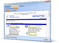 Newsletter Tool SuperMailer - Tracking Statistik Anzeige Klicks auf Hyperlinks als Overlay