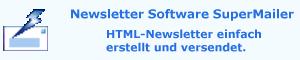 Newsletter Software SuperMailer, Newsletter erstellen und versenden