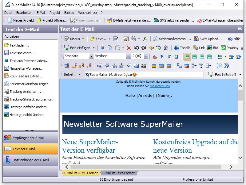 Serienmails mit Gutscheincode erstellen und versenden, Newsletter ...